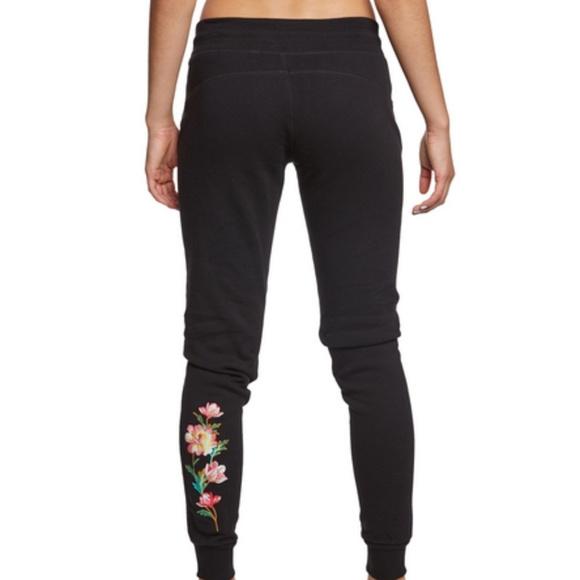 3c17855a13c154 Betsey Johnson Pants | Performance Embroidered Leggings | Poshmark